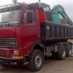 Volvo FH & Kobelco SK70SR